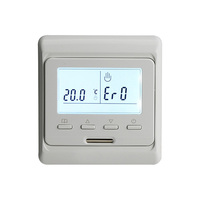 220V 16A LCD Screen Weekly Programmable Electric Digital Floor Heating Room Air Thermostat Warm Floor Temperature