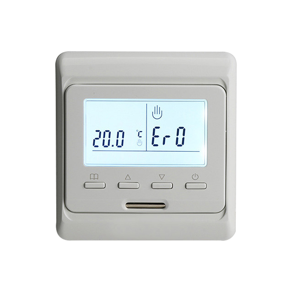 220V 16A LCD Screen Weekly Programmable Electric Digital Floor Heating Room Air Thermostat Warm Floor Temperature Controller 230v 16a lcd display weekly programmable room floor heating thermostat for room temperature control
