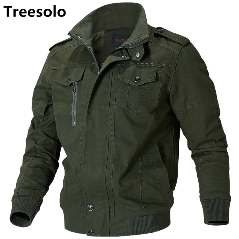Thermal Military Jacket Men Autumn Jacket Men Thick Army Jackets Cotton Multi-pockets Cargo Military Men Jackets Big Size 9893(China)