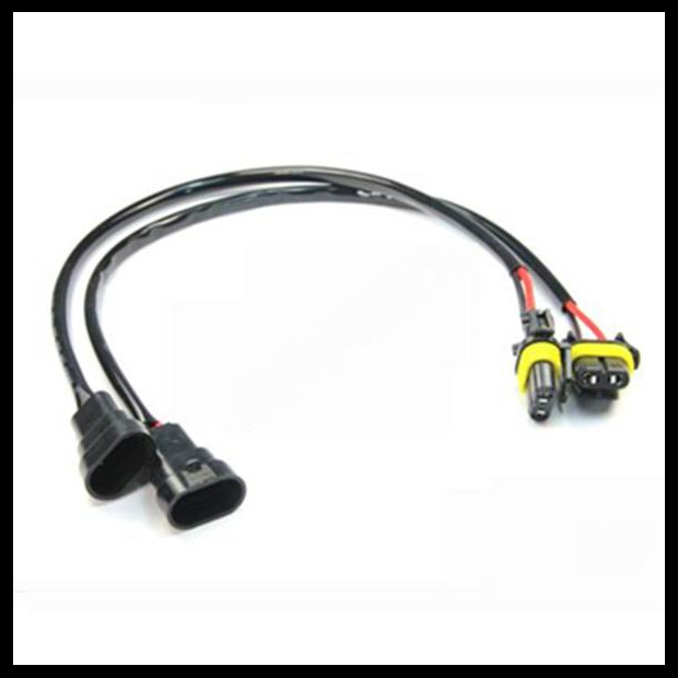9006 HB4 Male Female Extension Wire harness 9006 HID Xenon Power Cable Connector Ballast bulb Auto aliexpress com buy 9006 hb4 male female extension wire harness  at nearapp.co
