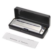 Wholesale 5X Harmonica with 10 holes – silver