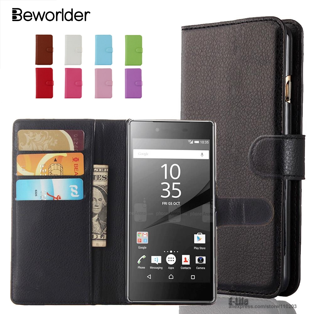 Beworlder Wallet PU Leather Case For Sony Xperia Z1 Z2 Sony Z3 Z4 Z5 M4 Aqua M5 Cover  For Sony E4 E4G C3 C4 C5 Case Card HolderBeworlder Wallet PU Leather Case For Sony Xperia Z1 Z2 Sony Z3 Z4 Z5 M4 Aqua M5 Cover  For Sony E4 E4G C3 C4 C5 Case Card Holder