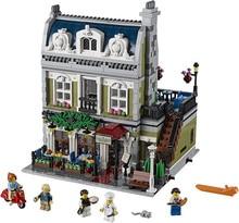 Toys CHINA BRAND L5010 self-locking bricks Compatible with Lego Creator Expert 10243 Parisian Restaurant no original box