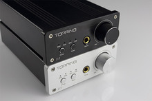 Topping D3 Portable Mini 24Bit/192kHz USB Optical Coaxial BNC USB DAC Headphone Amp Amplifier Black/Sliver With Power Supply