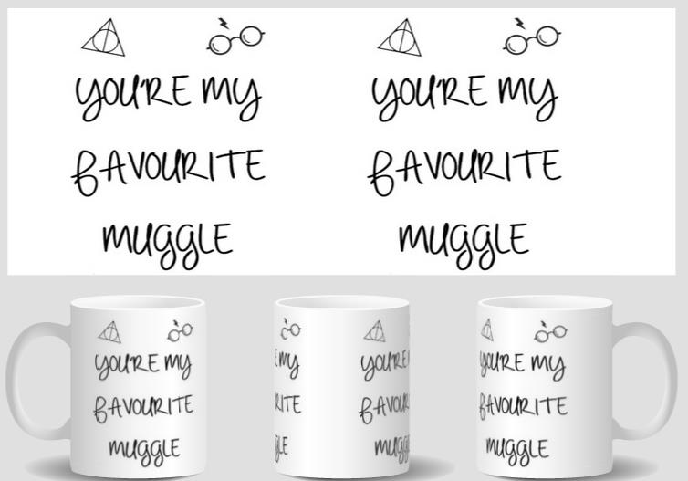 Youre My Favourite Muggle Coffee mugs hogwarts marauders map Cups home decal wine mugen whiskey beer ceramic mug
