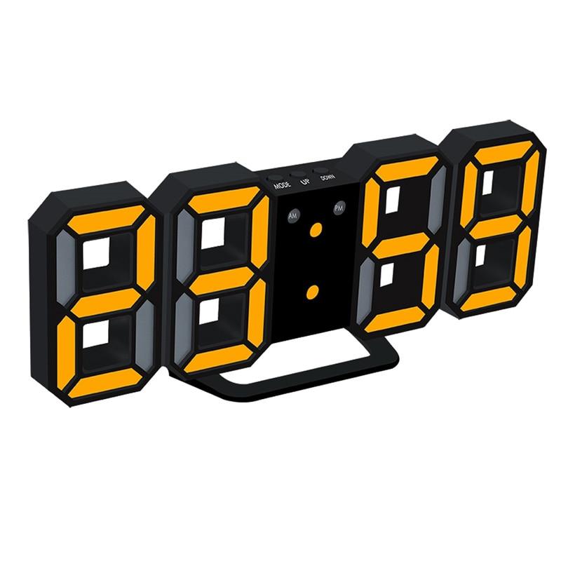 eaagd 1 set led digital alarm clock upgrade version 8888 wall clock rh aliexpress com Dessert Clip Art Eating Lunch Clip Art