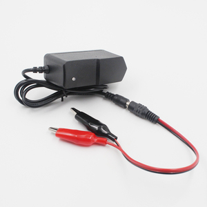 Image 4 - 12V 1000ma Lead Acid Dry Battery Charger for Car Motorcycle 12 Volt 1A Electric Toy Tool Motor Power Charging Adapter with Clip