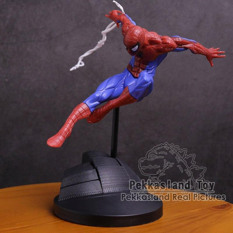 Spiderman CREATOR X CREATOR The Amazing Spider Man PVC Figure Collectible Model Toy