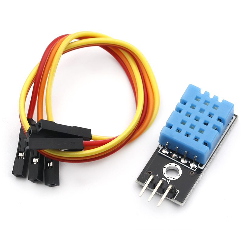 New Temperature And Relative Humidity Sensor DHT11 Module With Cable For Arduino Diy Kit
