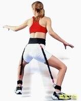 NEW 2019 Bounce basketball training equipment elastic rope fitness household men/women pull rope leg explosive force training