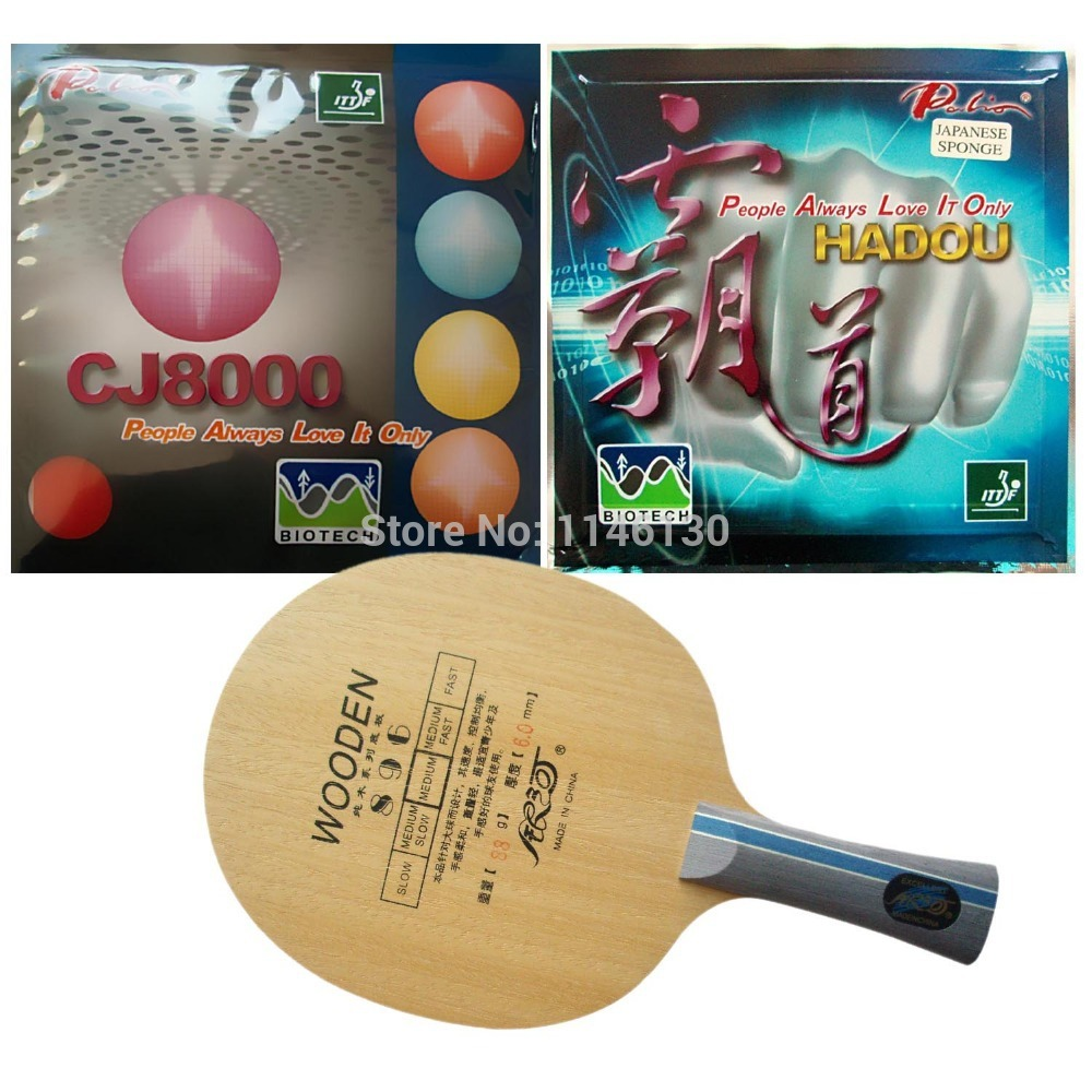 Galaxy YINHE 896 blade with Palio HADOU BIOTECH and CJ8000 BIOTECH 2-Side Loop Type rubbers Long Shakehand-FL pro combo racket galaxy yinhe t 11with blade and 2x palio cj8000 biotech 2 side loop type h36 38 rubbers new sale