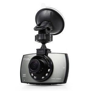 Image 1 - Auto DVR Kamera Spiegel Nachtsicht Fahren Recorder Kamera Gebaut in Mikrofon Lautsprecher Auto Recorder Spiegel Weiß Balance