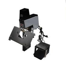 Tek Kafa 106 Elektrikli Otomatik Hızlı Zımba Binder makinesi Pedalı 220 V ile 2-50 sheets