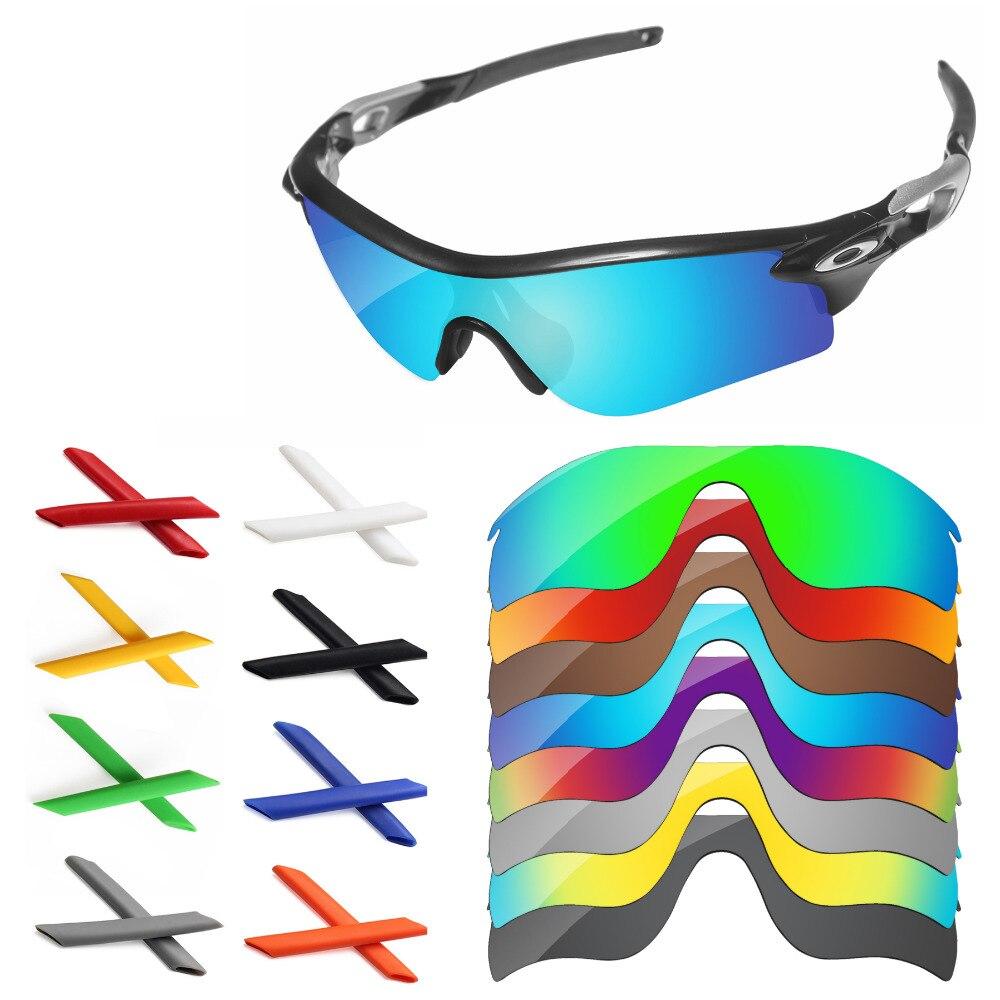 293a70d699f54 PapaViva Polarizada Lentes de Reposição e Earsocks para o Autêntico Caminho  Radarlock Óculos De Sol Frame