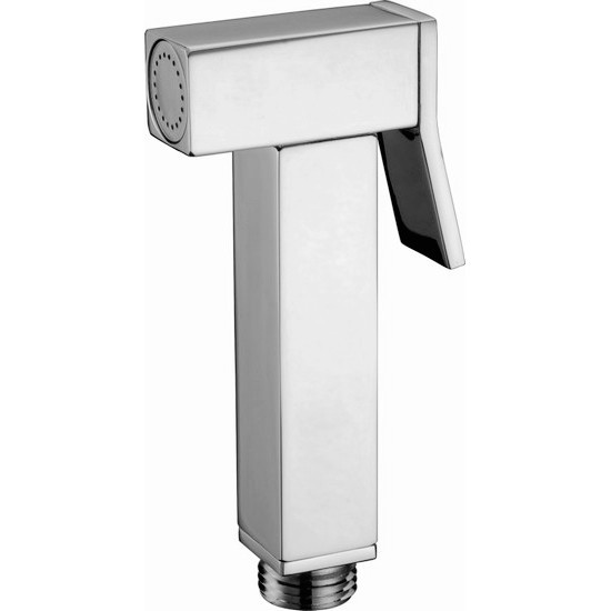 Free shipping Bathroom Products Solid Brass Toilet Handheld Bidet Shower / Portable Bidet with Brass Chrome BD201