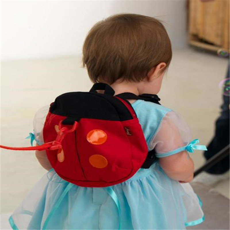 Baby Safty Harnesses buddy Ladybug Bat Harness Kid Keeper Carrier 2-in-1 Backpack Harnesses Toddler Walking Assistant