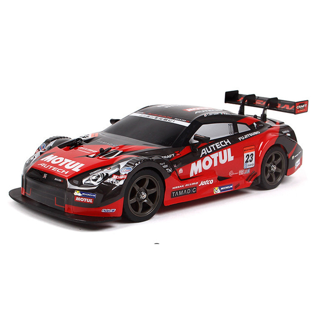 RC Car 1/16 4WD Drift Racing Car 2.4G Off-Road 28km/h Radio Remote Control Vehicle Electronic Toys RTR Red/Blue For Kids Boys