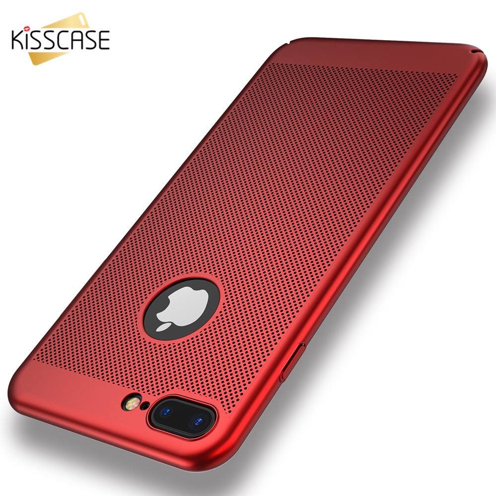 kisscase ultra thin phone case for iphone 6 7 plus coverkisscase ultra thin phone case for iphone 6 7 plus cover breathable radiating protective cover for iphone x 6s plus 5 5s se case