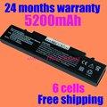 Jigu batería del ordenador portátil para samsung r517 r519 r520 r522 r523 r538 R540 R580 R620 R718 R720 R728 R730 R780 envío libre 6 células