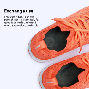 Image 5 - Original Xiaomi Youpin Cushioning Insole Shoes Pad Multiple Shock Absorbing Running Insole Rebound Support Sole Sports Insole