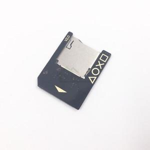 Image 3 - High Quality 5.0 SD2Vita Adapter for PS Vita 1000 2000 Memory Card Slot for PSVita Micro SD card Reader Adapter