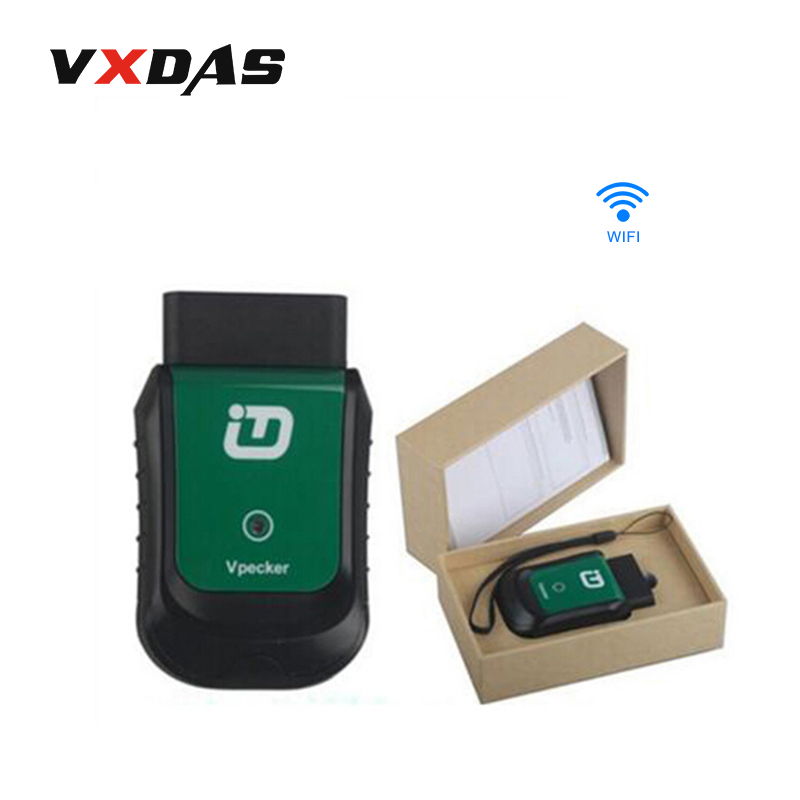 VPECKER Easydiag V9 0 Wireless OBDII Full Auto Diagnostic Tool Work On Windows Tablet font b