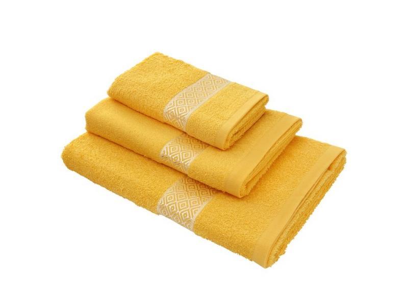 Towel WELLNESS, Eva, 50*100 cm, yellow