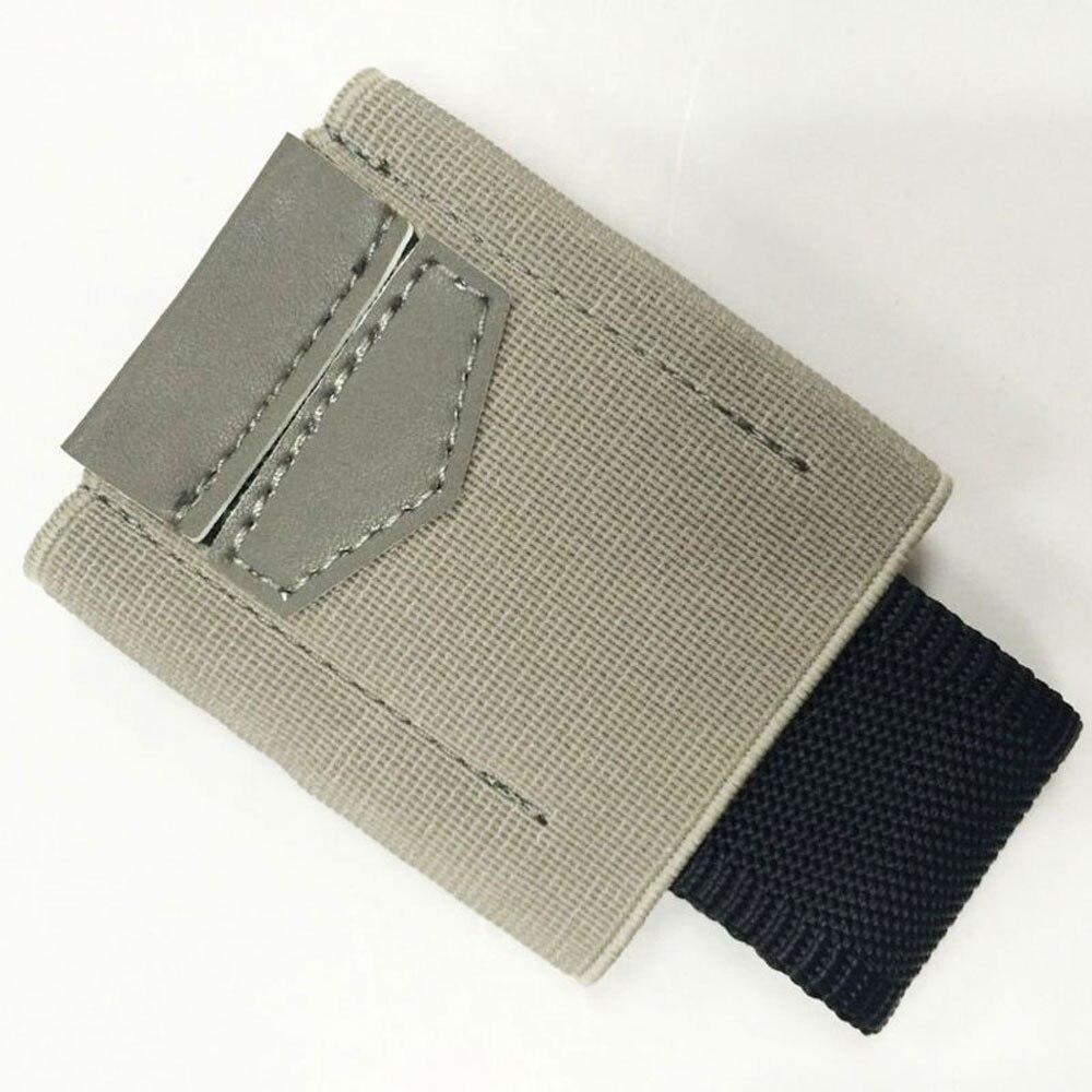 Mini Small Credit Card Holder Minimalist Slim Elastic Wallet Men Women Business Card Holders