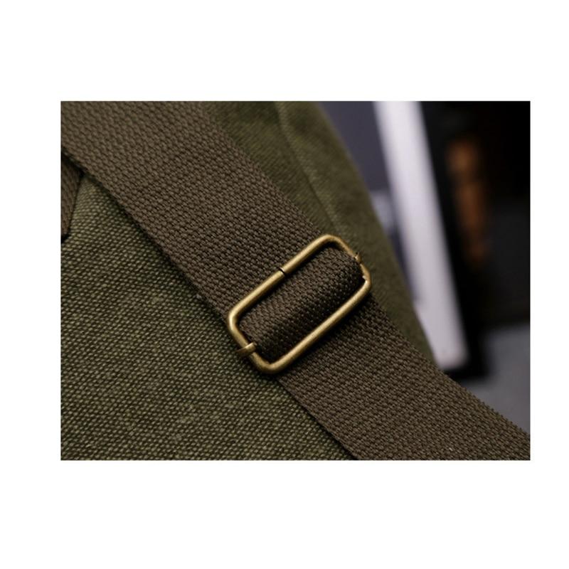 3 boje nove modne platnene pantalone casual torba muški vojni ruksak - Ruksaci - Foto 4