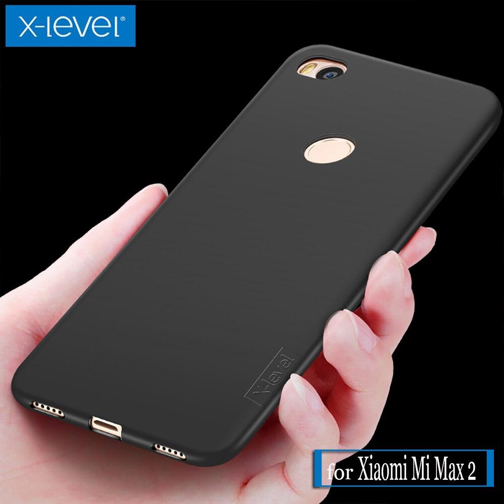 Xiaomi Mi Max 2 Max2 Case X-Level Guardian Ultra Thin Matte Soft Silicone TPU Phone Back Protective Full Cover for Xiaomi Max 2