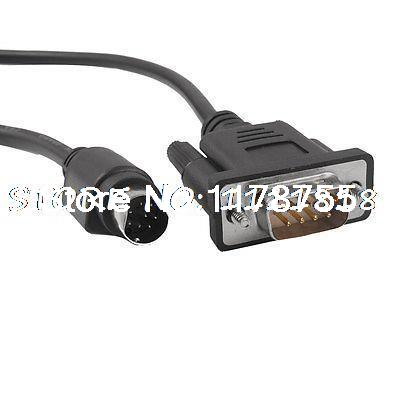 3 Meters MT4000/5000 FX PLC Cable for Mitsubishi Melsec FX1N 2N 1S 0S plc srt2 od04