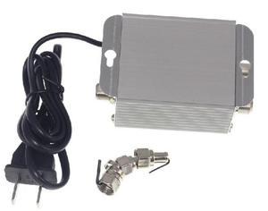 Image 2 - التيار المتناوب 220 فولت 2 طريقة CATV كابل التلفزيون مكبر صوت أحادي أمبير معزز هوائي الفاصل مجموعة النطاق العريض معدات التلفزيون المنزلي 45Mhz إلى 860MHz