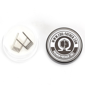 цена на Coil Father RDA NI80 Fused Clapton Coil Vape 3 Core DIY Coil Heating Resistance Coil Wire for Ecig
