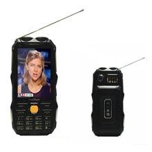 """3,"""" TKEXUN Q8 мобильный телефон с внешним аккумулятором аналоговый ТВ две sim-карты старшая двойная вспышка Q8 русский сотовый телефон"""