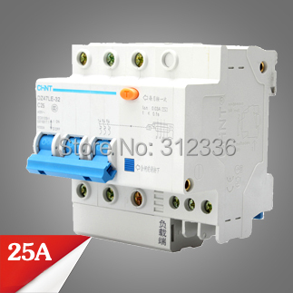 Free Shipping Two years Warranty  DZ47LE-32 C25 3P 25A 3 pole ELCB RCD earth leakage circuit breaker  residual currentFree Shipping Two years Warranty  DZ47LE-32 C25 3P 25A 3 pole ELCB RCD earth leakage circuit breaker  residual current