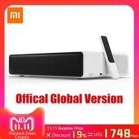 Оригинальный лазерный проектор Xiao mi jia tv дюймов 150 дюймов Multi language 4 К Full HD с DOLBY DTS 3D HDR mi домашний кинотеатр