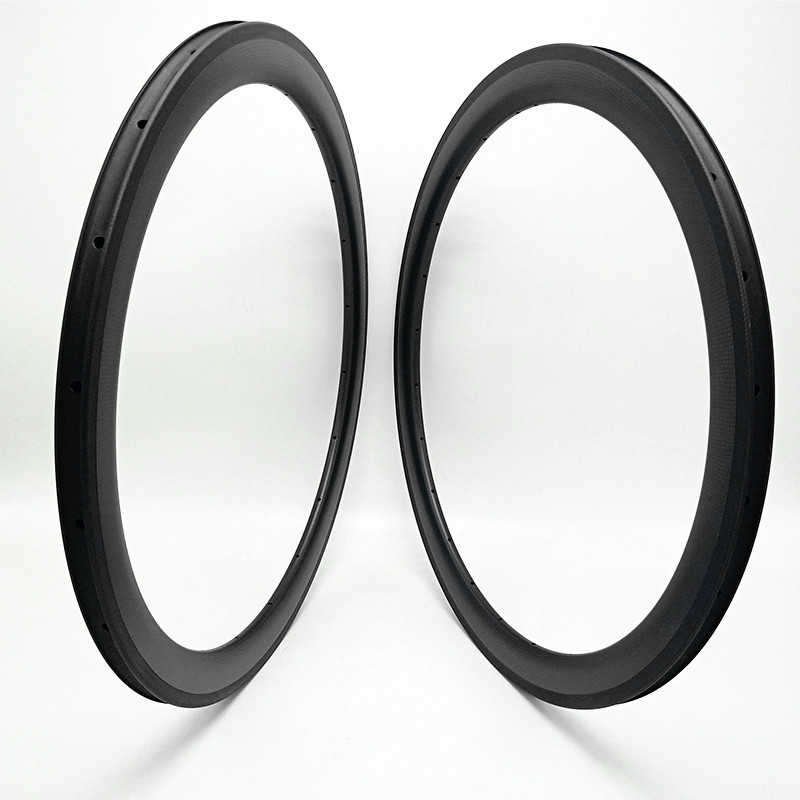 free shipping carbon road <font><b>rims</b></font> 700c Road bike <font><b>rim</b></font> 50x25mm clincher tubular Basalt brake road bicycle <font><b>rims</b></font> 700c bike wheel image