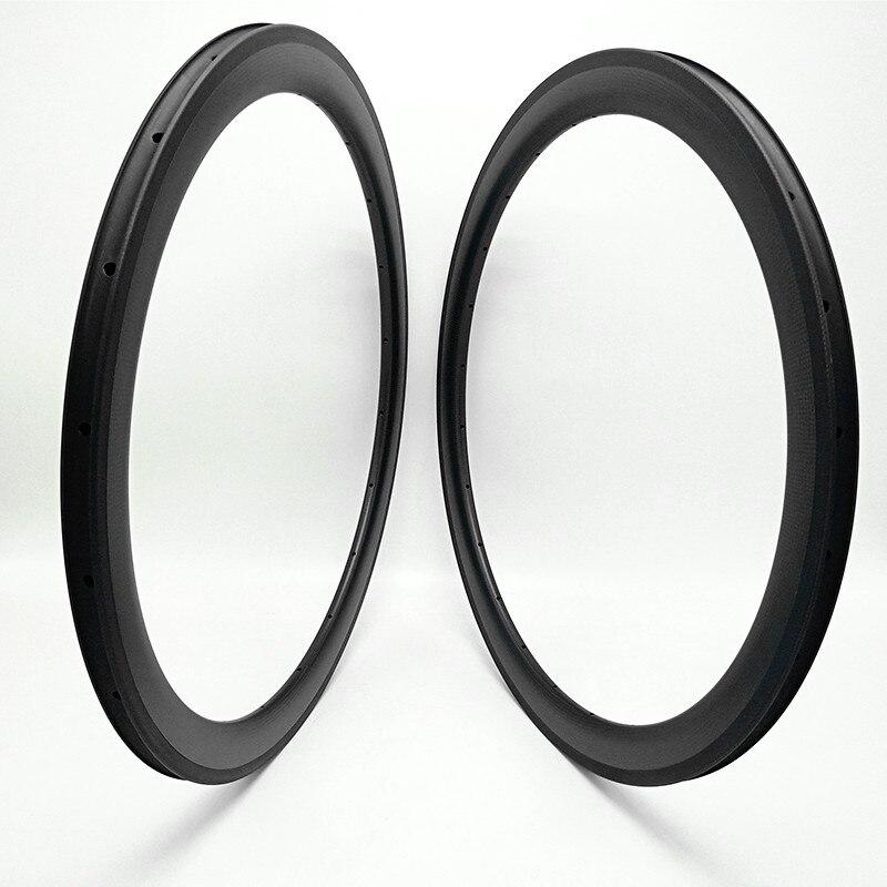 free shipping carbon road rims 700c Road bike rim 50x25mm clincher tubular Basalt brake road bicycle rims 700c bike wheel