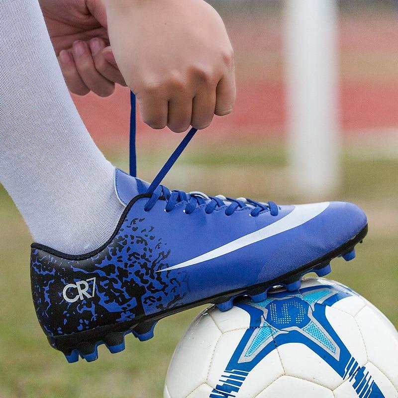 0c29067759d Professional Soccer Shoes Superfly VI 360 Phelon III CR7 Women Football  Boots Men Training Sneaker Adult Kids Boys Girls Cleats
