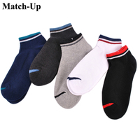 Match Up Men S Sport Terry Cotton Socks Ankle Socks 5pairs Lot