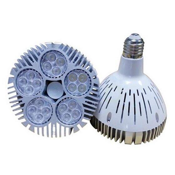 Lampholy E27 50 W PAR38 LED Lumière Blanc