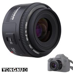 Image 4 - Yongnuo 35 Mm YN35mm F2.0 Ống Kính Góc Rộng Cố Định/Thủ Tự Động Lấy Nét Ống Kính Cho Máy Canon 600D 60D 5DII 5D 500D 400D 650D 600D 450D