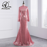 Newest Sexy Mermaid Sweetheart Crystal With Lace Cape Women Evening Dresses 2017 Formal Evening Gown