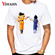 Dragon Ball Z T-Shirt Men Women 3D Print Goku Vegeta Friends Graphic Tees Casual White Tee Shirts Unisex Tops