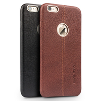 QIALINO Genuine Leather Cell Phone Case For IPhone6 6s Fashion Luxury Ultra Slim Back Cover For