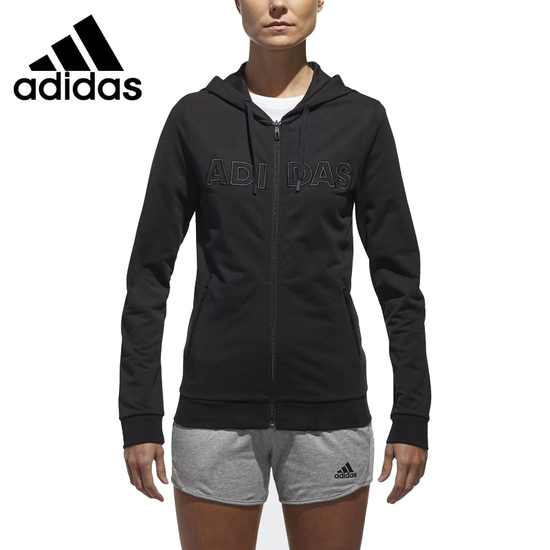 Original New Arrival 2018 Adidas ISC LINEAR HD Women's jacket Hoodies Sportswear