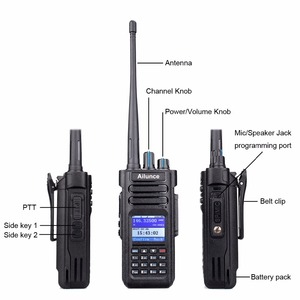Image 3 - RETEVIS Radio DMR Ailunce HD1 Ham Radio IP67 wodoodporna cyfrowe walkie talkie (GPS) 10W VHF UHF Dual Band Two Way Radio Amador