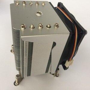 Image 2 - R5 50 кулер для процессора, вентилятор 9 см, 5 тепловых трубок, радиатор для intel LGA1155/1156
