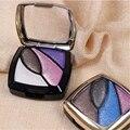 Venda quente nova maquiagem sombra 4-color sombra maquiagem cor terra nua profissionais cosméticos frete grátis S479
