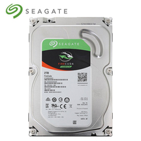 Seagate 2TB FireCuda Gaming SSHD (Solid State Hybrid Drive) 7200 RPM SATA 6Gb/s 64MB Cache 3.5 Inch Hard Drive ST2000DX002